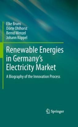 Bruns, Elke - Renewable Energies in Germany's Electricity Market, ebook