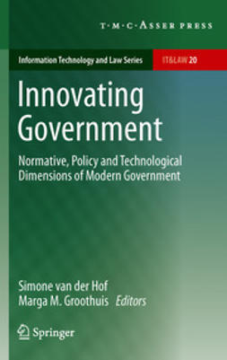 Hof, Simone van der - Innovating Government, ebook
