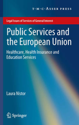 Nistor, Laura - Public Services and the European Union, ebook