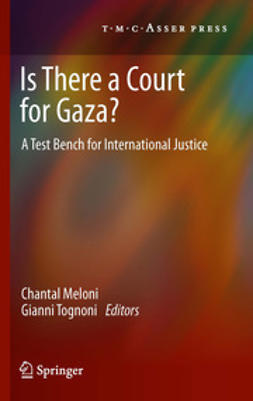 Meloni, Chantal - Is There a Court for Gaza?, ebook