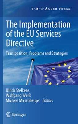 Stelkens, Ulrich - The Implementation of the EU Services Directive, ebook