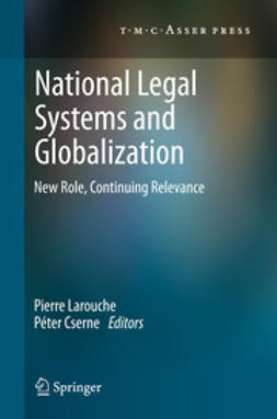 Larouche, Pierre - National Legal Systems and Globalization, e-bok