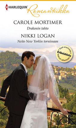 Logan, Nikki - Drakonin tahto / Neito New Yorkin tornissaan, ebook