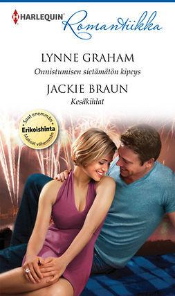 Braun, Jackie - Onnistumisen sietämätön kipeys / Kesäkihlat, e-kirja