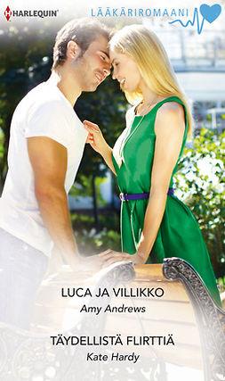 Andrews, Amy - Luca ja villikko  / Täydellistä flirttiä, e-kirja