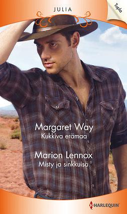 Lennox, Marion - Kukkiva erämaa / Misty ja sinkkuisä, e-kirja