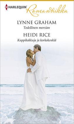 Graham, Lynne - Todellinen morsian / Kuppikakkuja ja korkokenkiä, e-bok