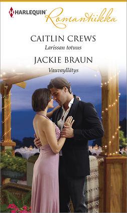 Braun, Jackie - Larissan totuus/Vauvayllätys, e-kirja
