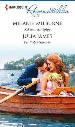 James, Julia - Rakkaus esittäytyy / Perillistä etsimässä, e-kirja