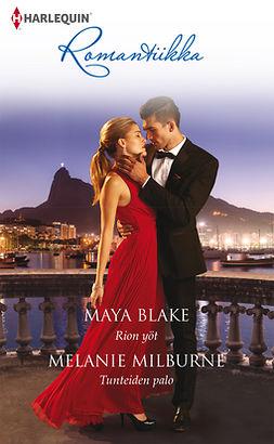 Blake, Maya - Rion yöt / Tunteiden palo, e-kirja