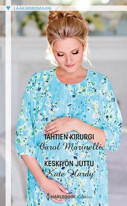 Hardy, Kate - Tähtien kirurgi / Keskiyön juttu, e-bok