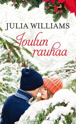 Williams, Julia - Joulun rauhaa, e-kirja