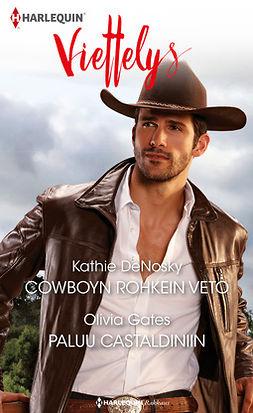 DeNosky, Kathie - Cowboyn rohkein veto / Paluu Castaldiniin, e-kirja