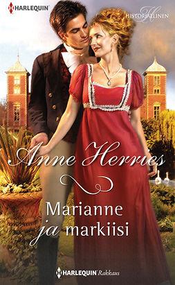 Herries, Anne - Marianne ja markiisi, e-kirja