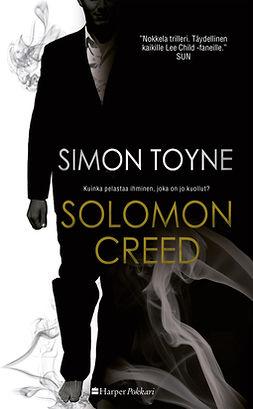 Toyne, Simon - Solomon Creed, e-kirja