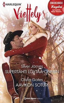 Gates, Olivia - Supertähti löytää onnen / Aavikon soturi, e-kirja