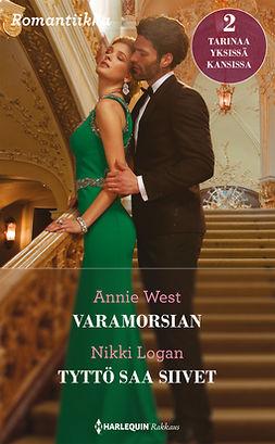 Logan, Nikki - Varamorsian / Tyttö saa siivet, e-kirja