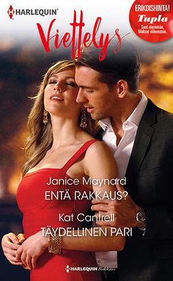 Cantrell, Kat - Entä rakkaus? / Täydellinen pari, ebook