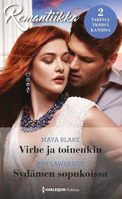 Blake, Maya - Virhe ja toinenkin / Sydämen sopukoissa, e-kirja