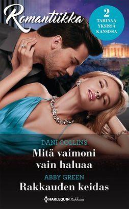 Collins, Dani - Mitä vaimoni vain haluaa  / Rakkauden keidas, e-bok