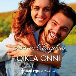 Annie, Claydon - Oikea onni, äänikirja
