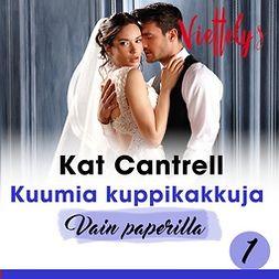 Cantrell, Kat - Kuumia kuppikakkuja, äänikirja