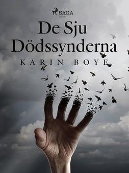 Boye, Karin - De Sju Dödssynderna, ebook