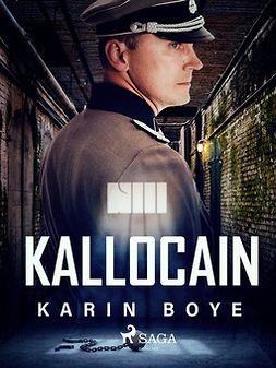 Boye, Karin - Kallocain, ebook