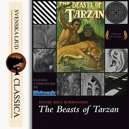 Burroughs, Edgar Rice - The Beasts of Tarzan, audiobook