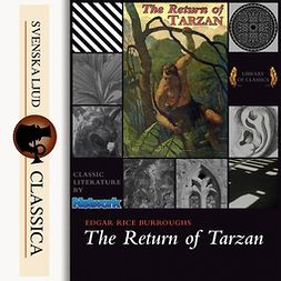 Burroughs, Edgar Rice - The Return of Tarzan, audiobook