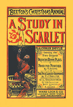 Doyle, Arthur Conan - A Study in Scarlet, ebook