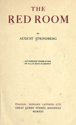 Strindberg, August - The Red Room, ebook