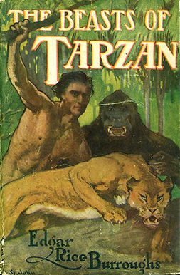 Burroughs, Edgar Rice - The Beasts of Tarzan, ebook