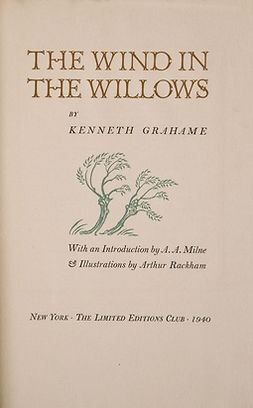 Grahame, Kenneth - The Wind in the Willows, e-kirja