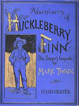 Twain, Mark - The Adventures of Huckleberry Finn, e-kirja
