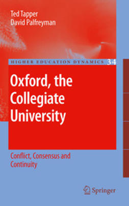 Tapper, Ted - Oxford, the Collegiate University, ebook