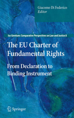 Giacomo, Di Federico - The EU Charter of Fundamental Rights, e-kirja