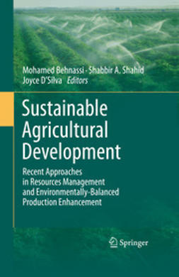 Behnassi, Mohamed - Sustainable Agricultural Development, ebook