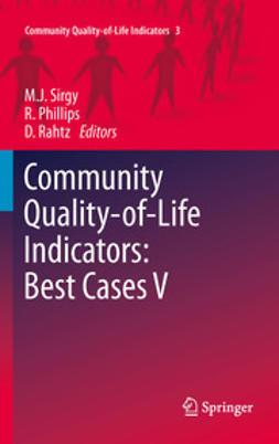 Sirgy, M. Joseph - Community Quality-of-Life Indicators: Best Cases V, e-kirja