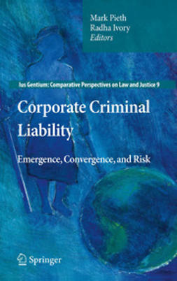 Pieth, Mark - Corporate Criminal Liability, ebook