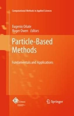 Oñate, Eugenio - Particle-Based Methods, e-bok