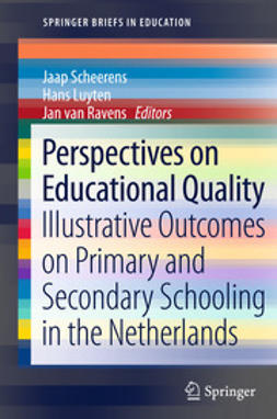 Scheerens, Jaap - Perspectives on Educational Quality, ebook