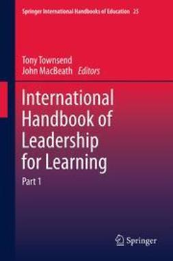 Townsend, Tony - International Handbook of Leadership for Learning, ebook