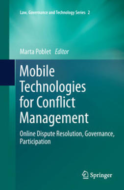 Poblet, Marta - Mobile Technologies for Conflict Management, ebook