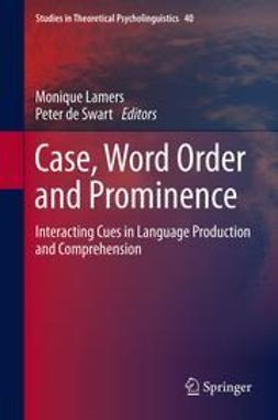 Lamers, Monique - Case, Word Order and Prominence, ebook