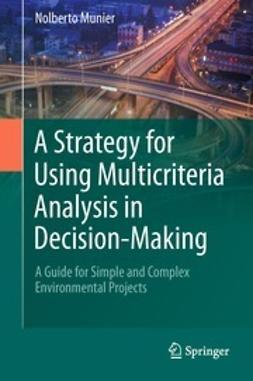 Munier, Nolberto - A Strategy for Using Multicriteria Analysis in Decision-Making, ebook