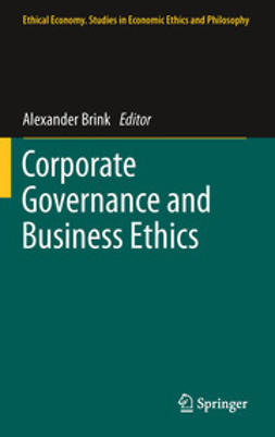 Brink, Alexander - Corporate Governance and Business Ethics, ebook