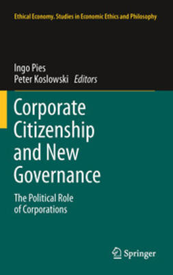 Pies, Ingo - Corporate Citizenship and New Governance, e-bok