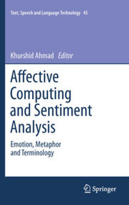 Ahmad, Khurshid - Affective Computing and Sentiment Analysis, ebook