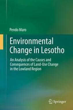 Maro, Pendo - Environmental Change in Lesotho, e-kirja